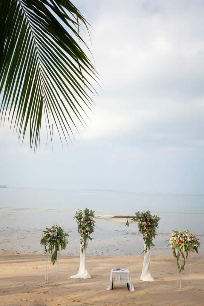Beach Wedding Photographs - Coconut Island Resort Phuket 23