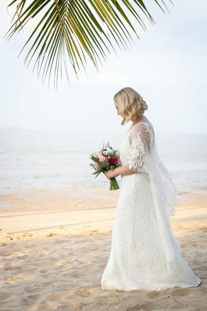 Beach Wedding Photographs - Coconut Island Resort Phuket 37