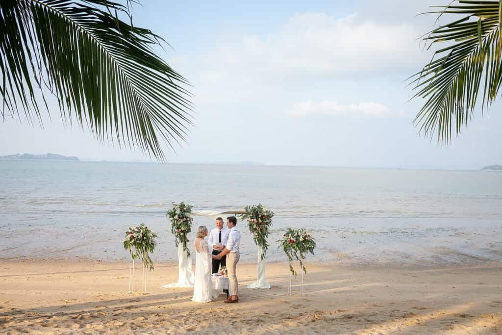 Beach Wedding Photographs - Coconut Island Resort Phuket 43