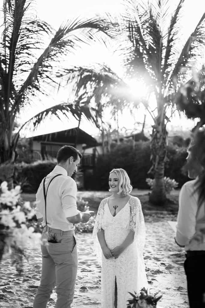 Beach Wedding Photographs - Coconut Island Resort Phuket 47