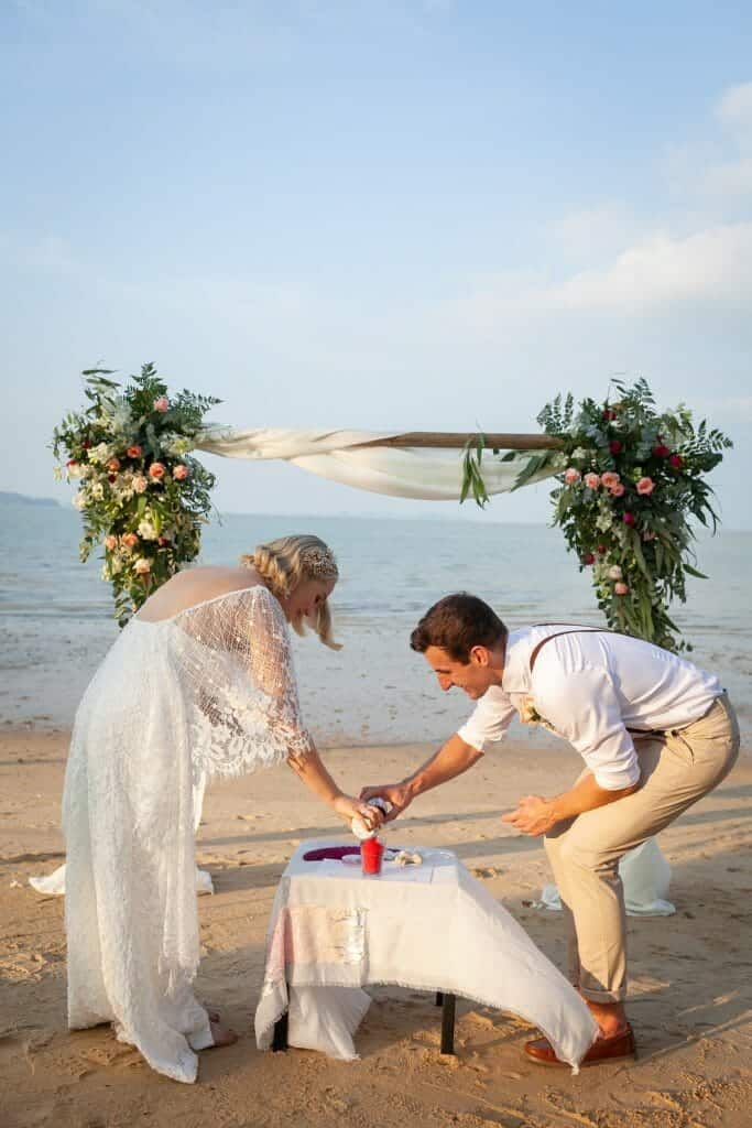 Beach Wedding Photographs - Coconut Island Resort Phuket 54