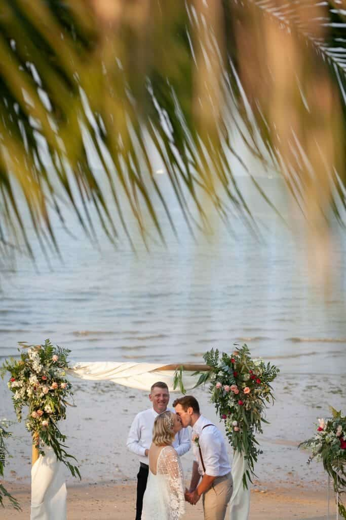 Beach Wedding Photographs - Coconut Island Resort Phuket 58