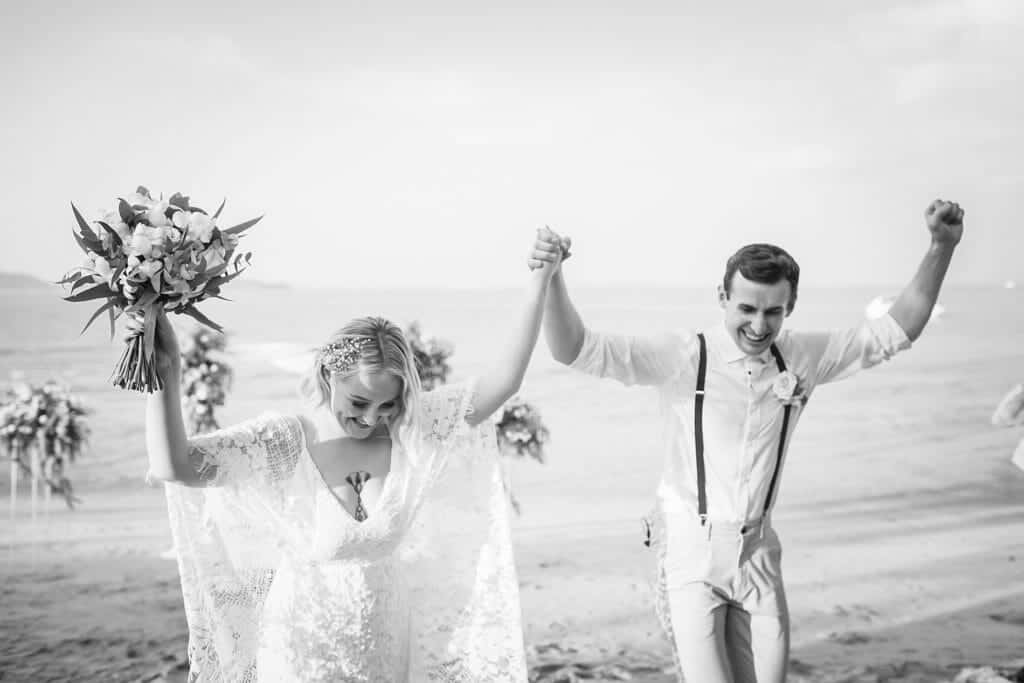 Beach Wedding Photographs - Coconut Island Resort Phuket 60