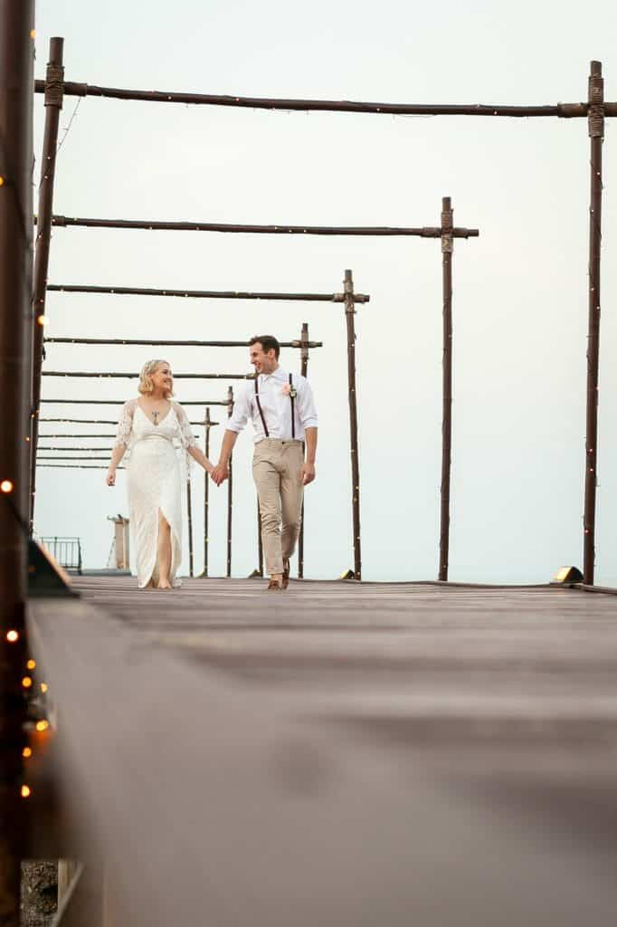 Beach Wedding Photographs - Coconut Island Resort Phuket 81
