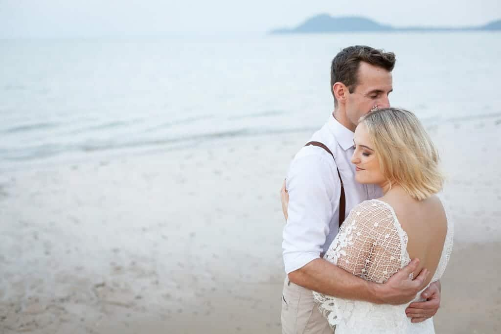 Beach Wedding Photographs - Coconut Island Resort Phuket 89